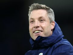 Neil Harris watched his side ease to victory (David Davies/PA)