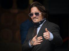 Johnny Depp (Dominic Lipinksi/PA)