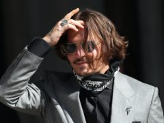 Actor Johnny Depp is awaiting the outcome of his libel action against the Sun newspaper (Yui Mok/PA)
