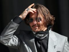 Johnny Depp attended the 16-day trial (Yui Mok/PA)