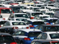 Demand for new cars fell by 1.6% last month compared with October 2019, new figures show (Gareth Fuller/PA)