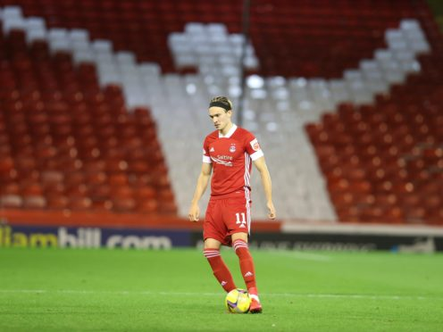 Ryan Hedges believes Aberdeen will show their resilience (Jeff Holmes/PA)