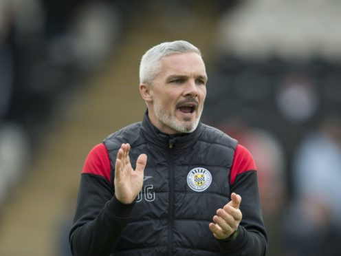 St Mirren manager Jim Goodwin surprised at Gary Holt resignation (Ian Rutherford/PA)