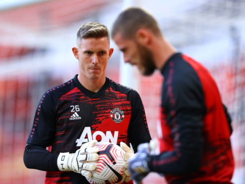Dean Henderson is pushing David De Gea (Richard Heathcote/PA)