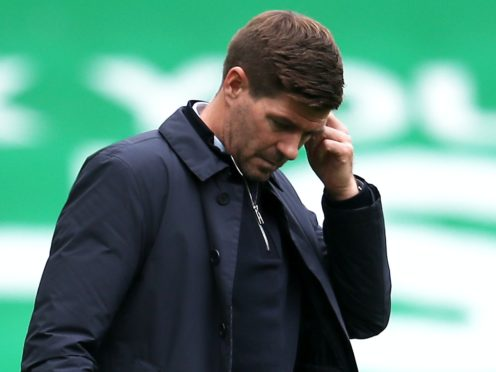 Rangers manager Steven Gerrard was frustrated by his team's failure to see out victory over Benfica (Andrew Milligan/PA)