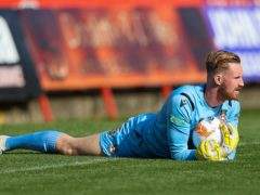 Wrexham keeper Rob Lainton was injured against Bromley (Barrington Coombs/PA)