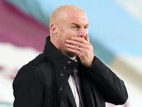 Sean Dyche refused to hide behind the stop-start nature of the 2020-21 Premier League season as an excuse for Burnley's early struggles (Alex Livesey/PA)