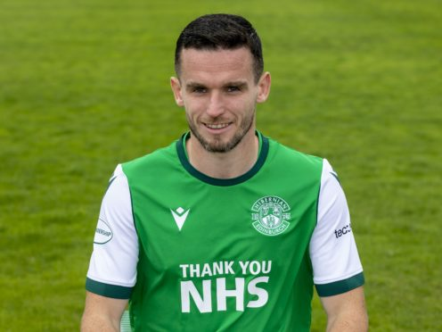 Paul McGinn scored his first Hibs goals (Alan Rennie/PA)