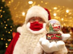 A psychologist has warned that being honest about the myth of Father Christmas in 2020 during the coronavirus lockdown could be damaging to children (Yui Mok/PA)