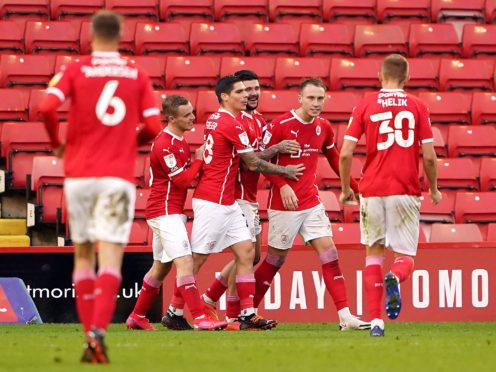 Barnsley secured their fourth win in five league games against Nottingham Forest (Tim Goode/PA)