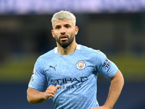 Manchester City will be without Sergio Aguero against Liverpool (Michael Regan/PA)