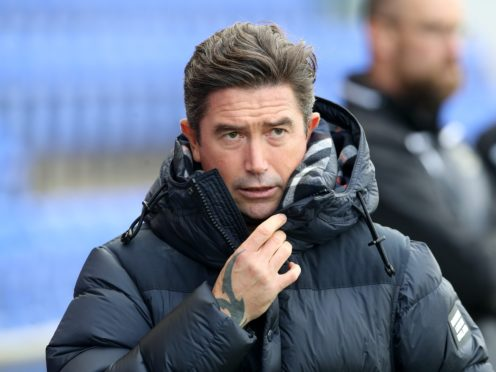 Harry Kewell was pleased with Oldham's work ethic (Martin Rickett/PA)