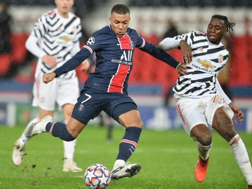 Manchester United host Paris Saint Germain on Wednesday (PA via ABACA).