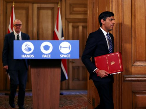 Chancellor Rishi Sunak has announced a new set of measures. (Henry Nicholls/PA)