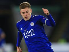 Harvey Barnes has scored four goals for Leicester this season (Mike Egerton/PA)