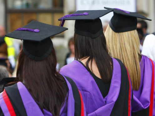 Universities UK said it would create a charter to ensure that institutions in England identify and improve potentially low quality courses (Chris Ison/PA)