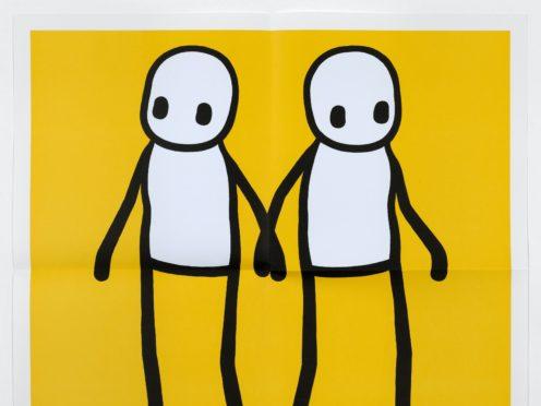 Stik artwork 'Holding Hands' (Metropolitan Police)