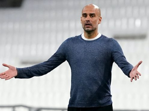 Pep Guardiola has had to deal with an injury-hit Manchester City squad in the early part of the season (PA Wire)