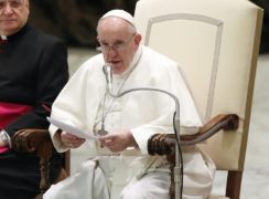 Pope Francis's comments caused a furore (AP Photo/Alessandra Tarantino)