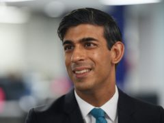 Chancellor of the Exchequer Rishi Sunak (Leon Neal/PA)