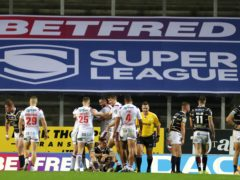 The 12th team in Super League in 2021 will receive less funding than other clubs (Richard Sellers/PA)