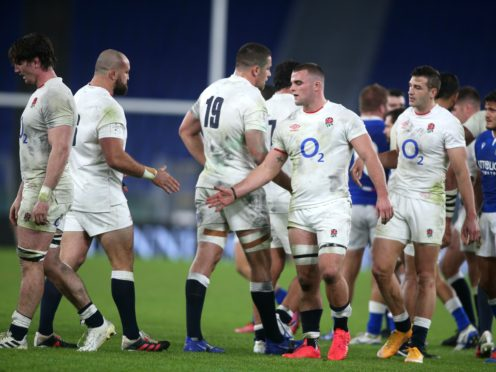England won their third Six Nations title in five years in Italy (Marco Lacobucci/PA)