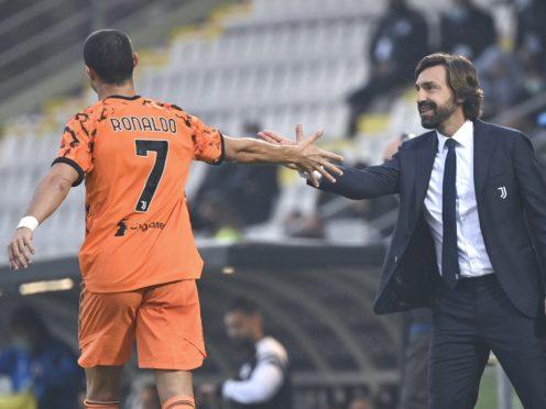 Cristiano Ronaldo, left, scored twice in Juve's win (Massimo Paolone/AP)