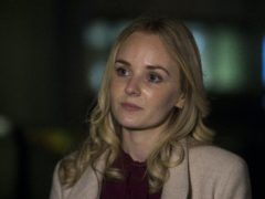 Lissie Harper, the widow of Pc Andrew Harper (Kirsty O'Connor/PA)