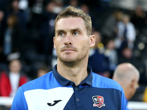 Exeter boss Matt Taylor was disappointed his side could only draw at Bradford (PA)