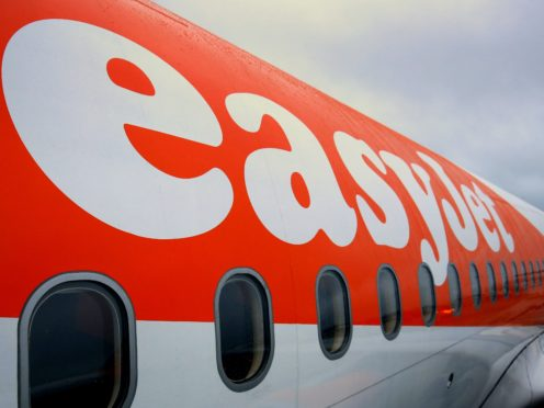 EasyJet has slumped to the first full-year loss in its 25-year history (PA)