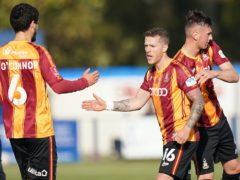 Billy Clarke was on target as Bradford won in the FA Cup (Tess Derry/PA)