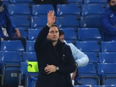 Frank Lampard has called on Chelsea to keep their feet on the ground (Ben Stansall/PA)