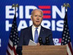 Joe Biden is heading for the White House (Carolyn Kaster/AP)