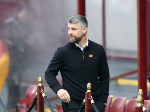 Stephen Robinson was not impressed with his Motherwell side (Steve Welsh/PA)