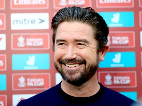 Harry Kewell was full of praise for his Oldham players (Adam Davy/PA)