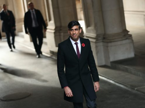 Chancellor of the exchequer Rishi Sunak has helped funnel billions of pounds in support to small businesses (Yui Mok/PA)