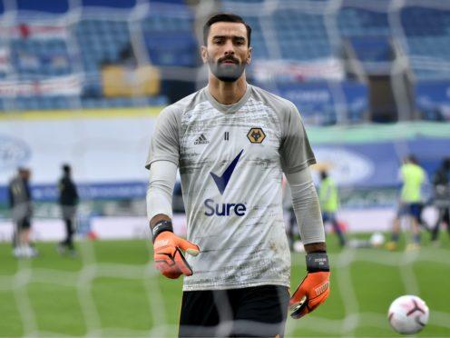 Wolves keeper Rui Patricio is maintaining his fine start to the season (Rui Vieira/PA)