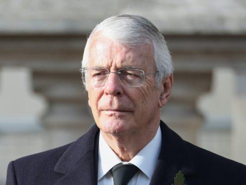 Former prime minister John Major (Chris Jackson/PA)