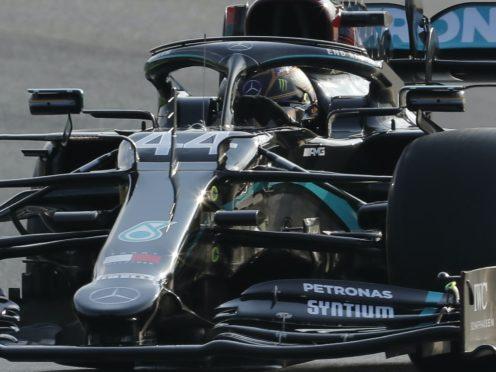 Mercedes driver Lewis Hamilton (Kenan Asyali/AP)