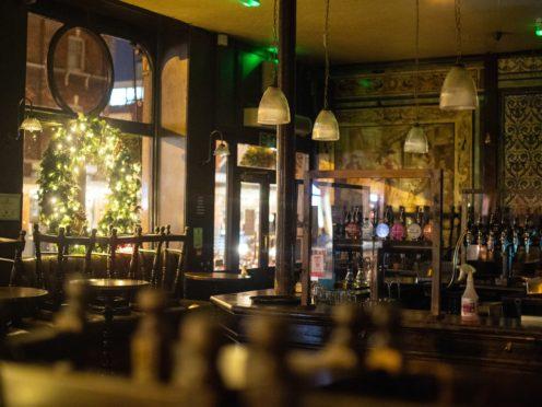 A closed pub in Shoreditch, east London (Dominic Lipinski/PA)
