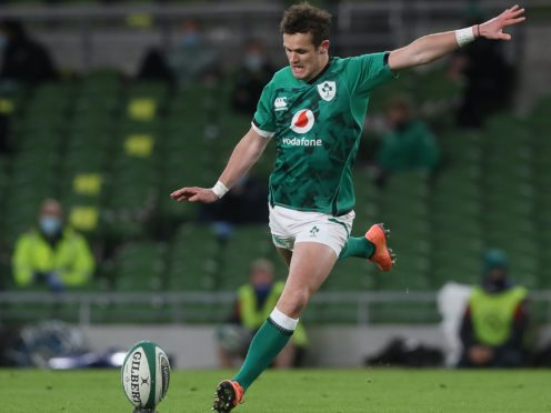 Ireland fly-half Billy Burns is preparing for his first international start (Brian Lawless/PA)