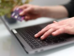 The NCSC has issued a new set of tips designed to help people stay safe when shopping online (Tim Goode/PA)