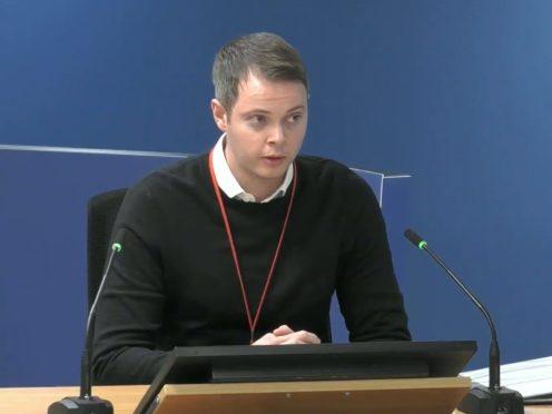 Jonathan Roper (Grenfell Tower Inquiry/PA)