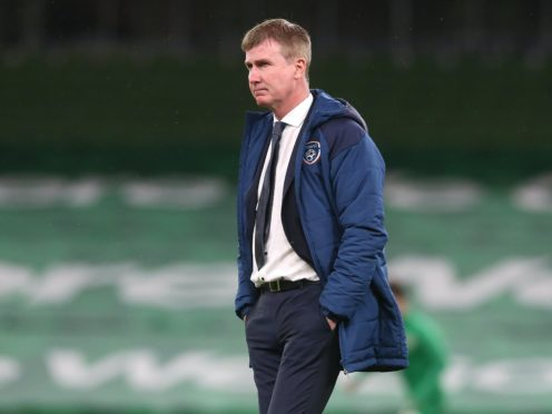 Republic of Ireland manager Stephen Kenny praised the character of his players after their 0-0 Nations League draw with Bulgaria (Brian Lawless/PA)
