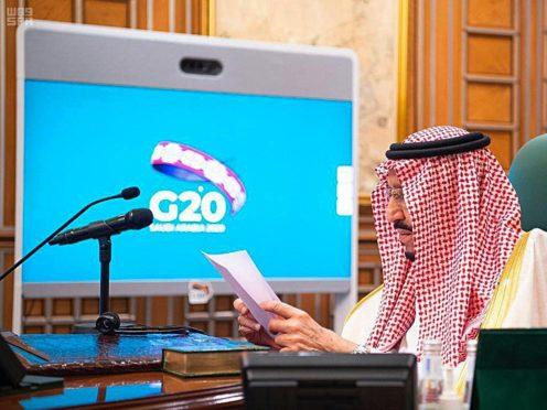 Saudi Arabia's King Salman (Saudi Press Agency via AP)