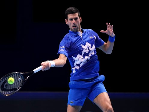 Novak Djokovic has backed the introduction of a domestic violence policy in tennis (John Walton/PA)