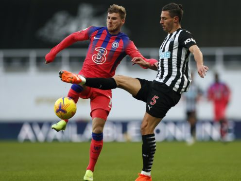 Chelsea's Timo Werner (left) was praised (Lee Smith/PA)