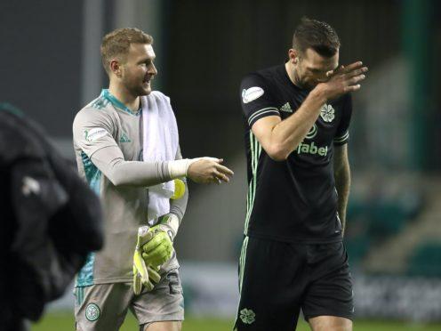 Scott Bain feels Celtic will come good (Andrew Milligan/PA)