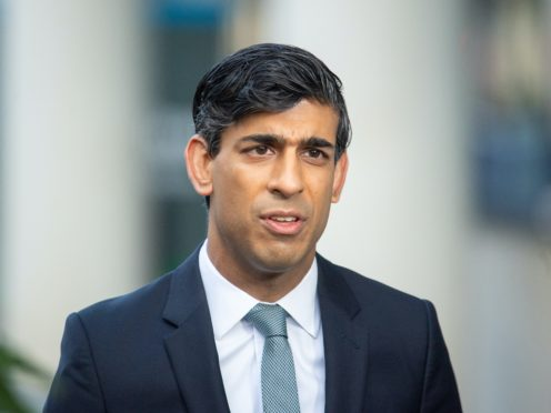 Chancellor Rishi Sunak will set out the budgets for Whitehall departments on Wednesday (Dominic Lipinski/PA)