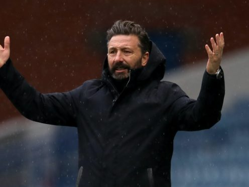 Derek McInnes insists his squad is still strong enough to take points (Andrew Milligan/PA)